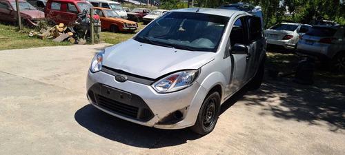 Ford Fiesta Año 2012 Chocado  Por Partes Resto De Banco