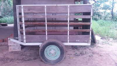 Carrocinha Para Transporte De Animais E Objetos