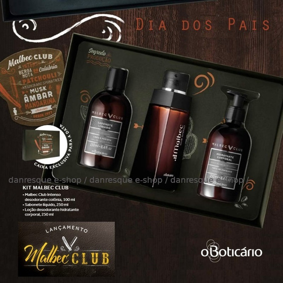 Kit Malbec Club Dia Dos Pais