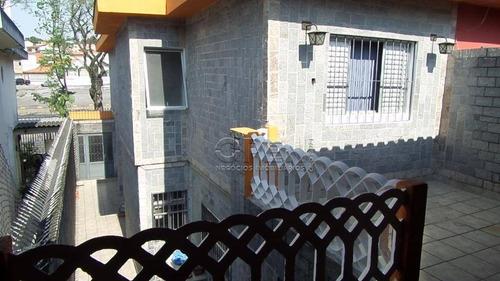 Imagem 1 de 18 de Sobrado Com 3 Dormitórios 1 Suíte 158 M² Por R$ 530.000 - Vila Guiomar - Santo André/sp - So2358