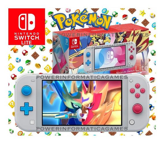 Nintendo Switch Lite Edição Pokemon 32gb Pronta Entrega