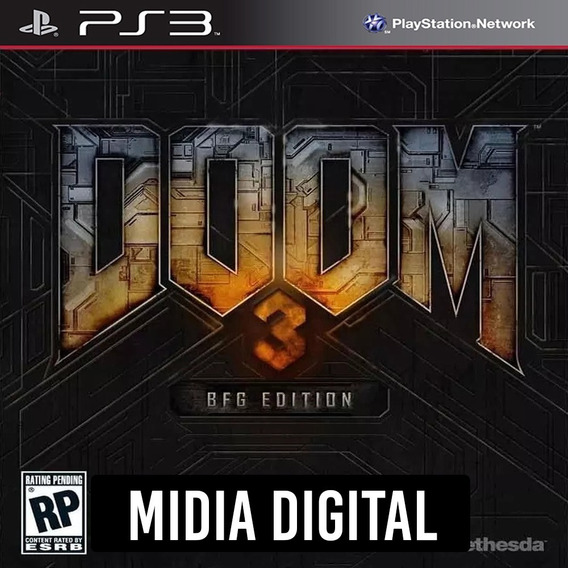 Ps3 - Doom 3 Bfg Edition