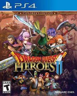Ps4 Dragon Quest Heroes Ii Explorers Edition Playstation 4