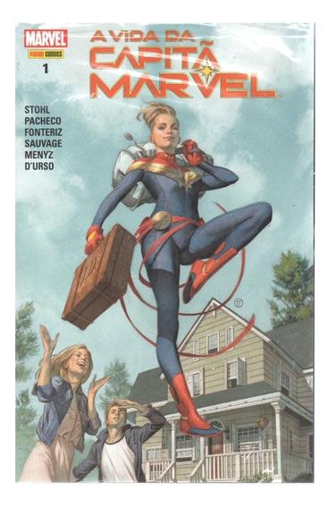 A Vida Da Capita Marvel 01 - Panini 1 - Bonellihq Cx52 E19