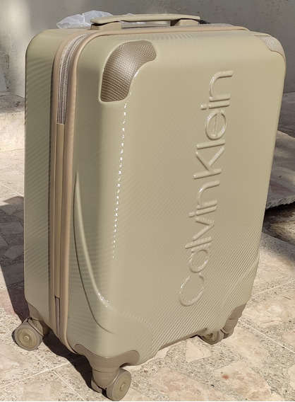 Maleta Calvin Klein Ck De Viaje Original Resistente Elegante