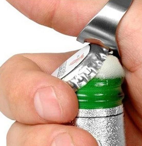 Anel Abridor Garrafa Cores 24mm E 22mm Aço Inox Bar Festas