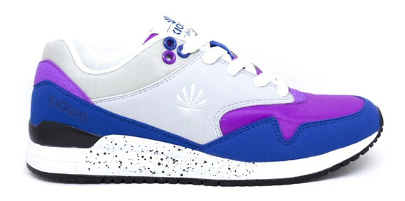 Zapatillas Kioshi Boston Women Violet Navy