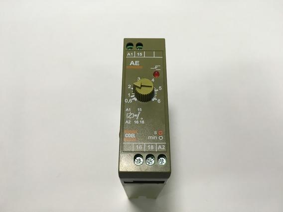 Relé Temporizador Eletrônico Ae 6seg 110vca Coel