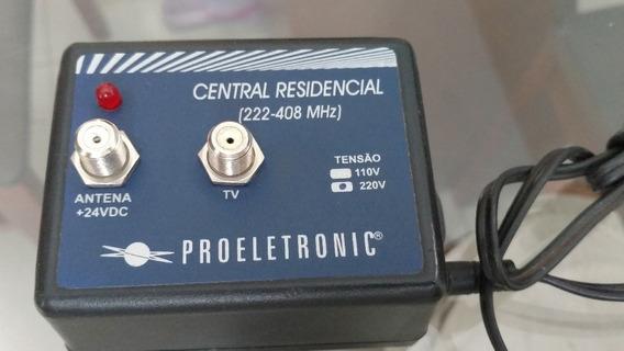 Central Residencial 222-408 Mhz +24vdc Proeletronic 220v
