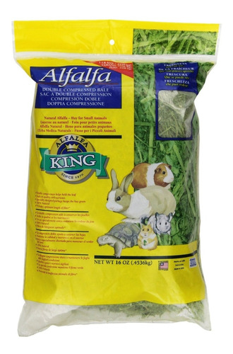 Heno De Alfalfa King, Grass Timothy,transpotador Y Juguete