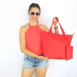 Promoção Bolsas Feminina Silicone Importado Linha Praia