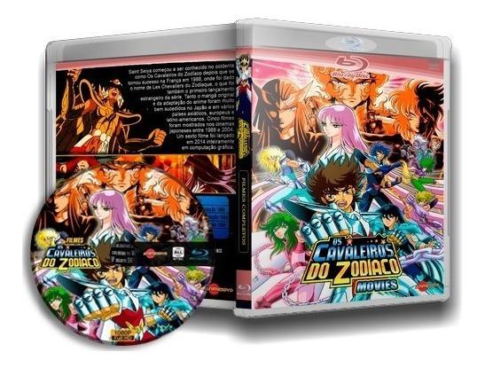 Cavaleiros Do Zodíaco - Pentalogia (os 5 Filmes) Em Blu-ray