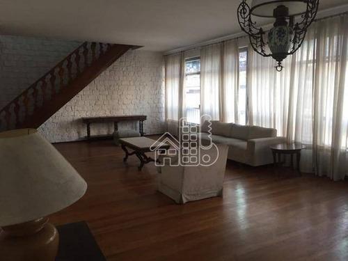 Apartamento Com 4 Dormitórios À Venda, 298 M² Por R$ 1.800.000,00 - Copacabana - Rio De Janeiro/rj - Ap3875