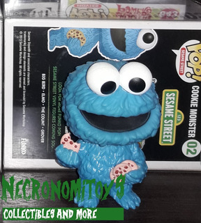 Funko Pop: Cookie Monster Vaulted + Protector.sesame Street.