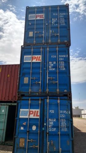 Contenedores - Containers  Nacionalizados 40 Pies Usado