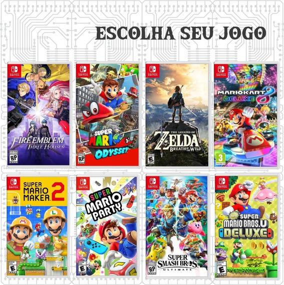 Nintendo Switch 620 Jogos Xci E Nsp Em Links Individuais