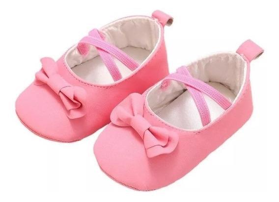 Sapato Nenê Menina Festa Princesa Batizado Festa Bailarina