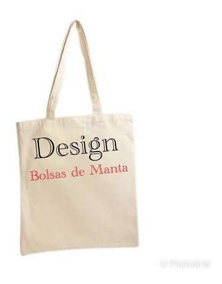 20 Bolsas De Manta Lisas Ideal Para Personalizar Tote Bag