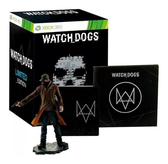Watch Dogs Limited Edition Vigilante - Xbox 360 - Lacrado Fábrica