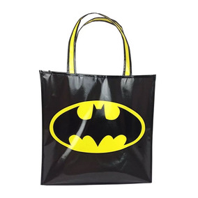 Sacola Polipropileno - Dc Comics - Logo Do Batman - 40x40x15