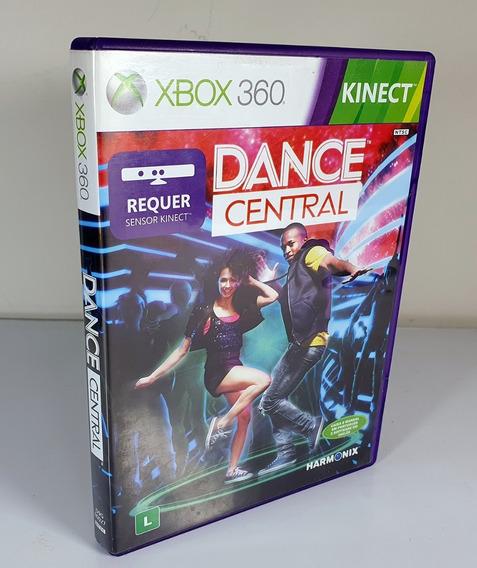 Jogo Dance Central Xbox 360 Midia Fisica Kinect Original Top