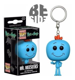 Funko Keychain Rick&morty Mr Meeseeks (bootleg)