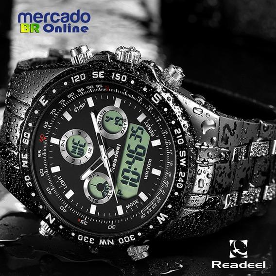 Relógio Sport Digital Com Display De Led