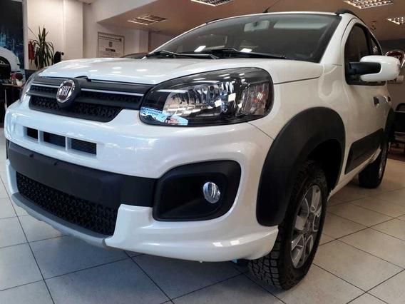 Fiat Uno Way 0km $90.000 O Usados Gol Clio Kwid 206 Onix X-
