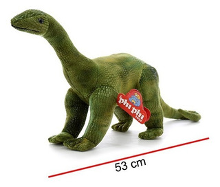Peluche Phi Phi Toys Dinosaurio Diplodocus Con Sonido 53cm
