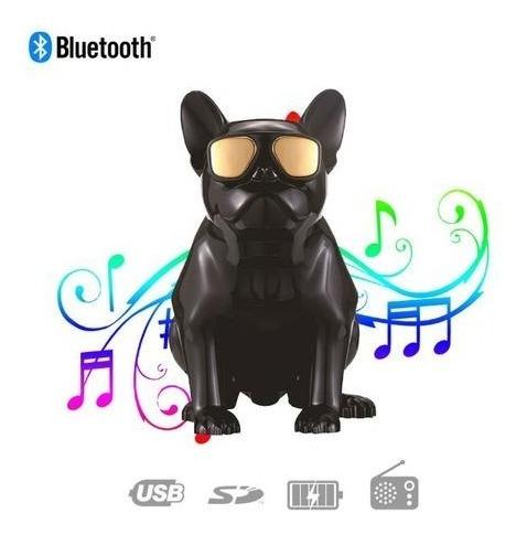 Caixa De Som Portátil Bluetooth Bulldog Aux Micro Sd Fm 638
