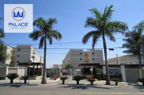 Imagem 1 de 6 de Apartamento Com 2 Dormitórios Para Alugar, 49 M² Por R$ 530,00/mês - Piracicamirim - Piracicaba/sp - Ap0843