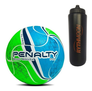 Kit Bola Beach Soccer Pro Vii Penalty + Squeeze Automático