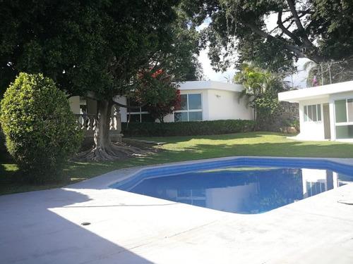 Imagen 1 de 14 de Casa En Fraccionamiento En Vista Hermosa / Cuernavaca - Ber-1018-fr