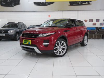 Range Rover Evoque Dynamic 2.0 4wd 16v Gasolina Aut Completa