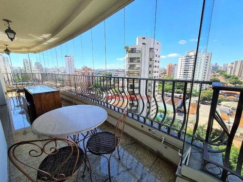Imagem 1 de 30 de Apartamento Com 4 Dormitórios À Venda, 257 M² Por R$ 2.700.000,00 - Campo Belo - São Paulo/sp - Ap10516