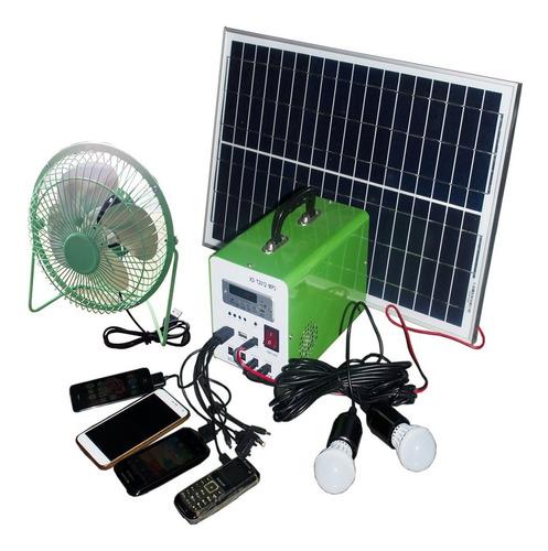Kit Solar Camping Picnic Luz Fm Mp3 Usb 20w - Tiempoaltiempo