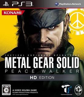 Metal Gear Solid Peace Walker Hd Edition Digital Ps3 Latino