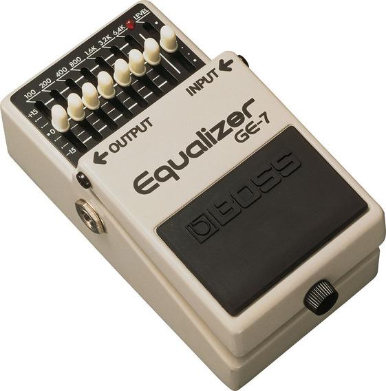 Pedal Ecualizador Boss Ge-7 Nuevo! Envio Gratis!