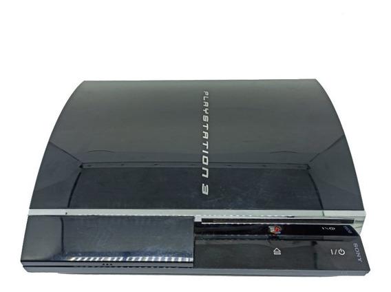 Console Playstation 3 Ps3 80gb Fat Retrocompatível Ps1 Ps2