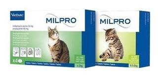 Desparasitante Gatos Cachorros Milpro Delicioso X 1 Pastilla
