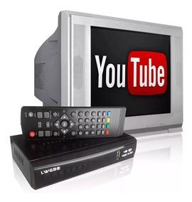 Conversor Tv Digital Youtube Wifi Full Hd Rca Hdmi Usb 1080