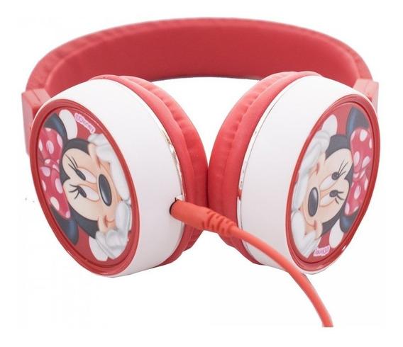 Fone De Ouvido Headphone Da Minnie Mouse Licenciado Disney