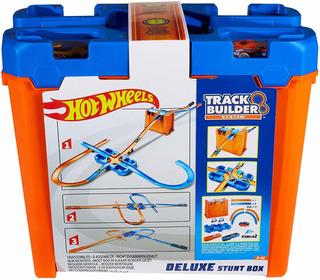 Hot Wheels Track Builder, Caja De Acrobacias Deluxe
