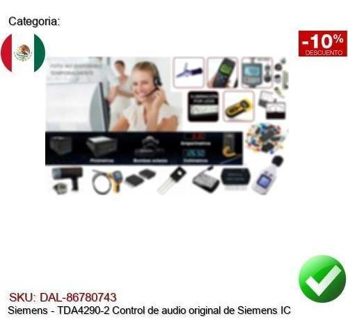 TDA4290-2 Original Siemens Audio Control IC
