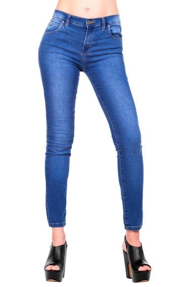 Jean Mujer Elastizado Azul Claro Onup