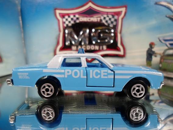 Majorette Chevy Impala Policia C/ Suspensão Raro Loose