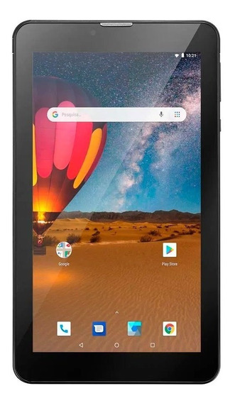 Tablet Multilaser M7 3g Plus 1gb 16gb Tela 7 Pol Preto Nb304