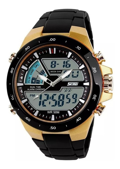 Relógio Masculino 1016 Skmei S-shock Esporte Resistente Água