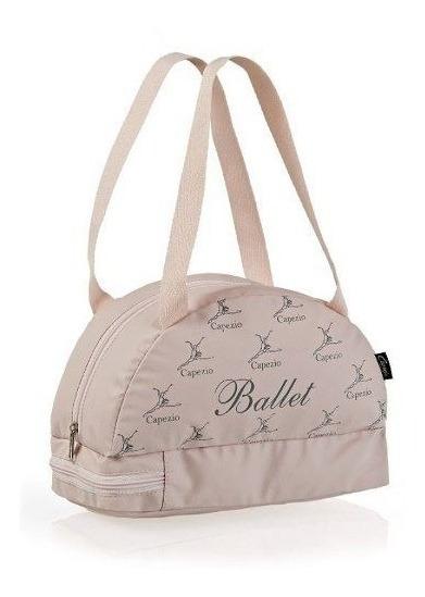 Bolsa Balé Capezio Mel B22 Infantil Rosa Lona - Sem Juros