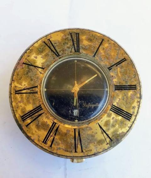 Reloj Antiguo De Barco. R Gsell&co. Lafayette Suizo